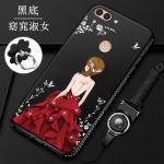 เคส Huawei Y9 (2018) ซิลิโคนลายผู้หญิงแสนสวยมากๆ แบบที่ 6