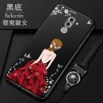 เคส Huawei GR5 2017 รุ่น Princess สีดำ#1