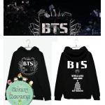เสื้อฮู้ด BTS (สีดำ)