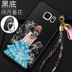 เคส Samsung S6 Edge Plus พลาสติกลายผู้หญิงแสนสวย พร้อมที่คล้องมือ สวยมากๆ แบบที่ 2