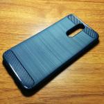 เคสนิ่ม TPU รุ่น Huawei Nova 2i ลายคาร์บอนเคฟล่า สีน้ำเงิน
