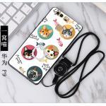 เคสนิ่ม Huawei P9 ลายแฟนซี #2