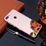 เคส Huawei Y9 (2018) แบบประกอบ 2 ชิ้น ขอบเคสโลหะ Bumper + พร้อมแผ่นฝาหลังเงางามสวยจับตา แบบที่ 2