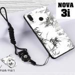 เคส Huawei Nova 3i เคสซิลิโคนลายการ์ตูน น่ารักๆ หลายลาย พร้อมแหวนจับมือถือลายเดียวกับเคส แบบที่ 9