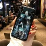 เคส iPhone X พลาสติก TPU สกรีนลายสวยงามมาก สามารถดึงกางออกมาตั้งได้ แบบที่ 5