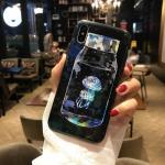เคส iPhone X พลาสติก TPU สกรีนลายสวยงามมาก สามารถดึงกางออกมาตั้งได้ แบบที่ 6