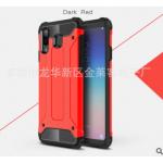 เคส Samsung A8 Star เคสกันกระแทกแยกประกอบ 2 ชิ้น ด้านในเป็นซิลิโคนสีดำ ด้านนอกพลาสติกเคลือบเงาโลหะเมทัลลิค แบบที่ 3