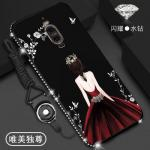 เคส Huawei Mate 9 Pro ลายผู้หญิง สีดำ#3