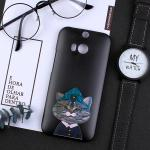 เคส HTC One M8 พลาสติกสกรีนลายน่ารักๆ เท่ หลายแนว แบบที่ 2