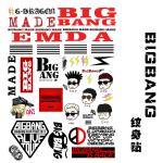 แทททู BIGBANG-MADE