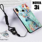 เคส Huawei Nova 3i เคสซิลิโคนลายการ์ตูน น่ารักๆ หลายลาย พร้อมแหวนจับมือถือลายเดียวกับเคส แบบที่ 16