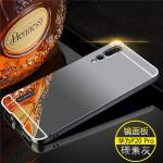 เคส Huawei P20 รุ่น Aluminium Hybrid Mirror Back (เคสฝาหลังเงา) สีดำ
