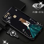 เคส Huawei P9 รุ่น Princess สีดำ#2