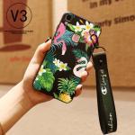 เคส VIVO V3 ซิลิโคนสกรีนลายฟลามิงโก สวยงามมาก แบบที่ 1