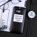 เคส HTC One M8 พลาสติกสกรีนลายน่ารักๆ เท่ หลายแนว แบบที่ 5