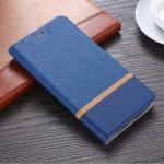 เคสฝาพับ Huawei Mate 9 Pro สีน้ำเงิน