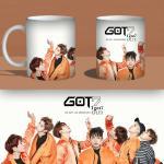 แก้วมัค GOT7 - FLY (สีดำ)
