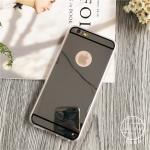 เคส tpu กระจกเงา ไอโฟน 66s plus 5.5 นิ้ว-ดำ