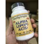 Healthy Origins, Alpha Lipoic Acid, 600 mg, 60 Capsules
