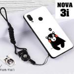 เคส Huawei Nova 3i เคสซิลิโคนลายการ์ตูน น่ารักๆ หลายลาย พร้อมแหวนจับมือถือลายเดียวกับเคส แบบที่ 13