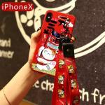 เคส iPhone X ซิลิโคนสกรีนลายนำโชคสวยงามมาก แบบที่ 6