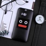 เคส HTC One M8 พลาสติกสกรีนลายน่ารักๆ เท่ หลายแนว แบบที่ 9