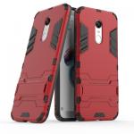เคส Xiaomi Redmi 5 Plus เคสกันกระแทกแยกประกอบ 2 ชิ้น ด้านในเป็นซิลิโคนสีดำ ด้านนอกพลาสติกเคลือบเงาโลหะเมทัลลิค แบบที่ 3