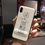 เคส iPhone X พลาสติก TPU สกรีนลายน่ารักมากๆ สามารถดึงกางออกมาตั้งได้ แบบที่ 13