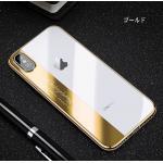 iPhone X tpu ขอบสีโครเมียม-สีทอง