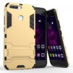 เคส Huawei Honor V9 เคสกันกระแทกแยกประกอบ 2 ชิ้น ด้านในเป็นซิลิโคนสีดำ ด้านนอกพลาสติกเคลือบเงาโลหะเมทัลลิค แบบที่ 4