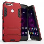 เคส Huawei Honor V9 เคสกันกระแทกแยกประกอบ 2 ชิ้น ด้านในเป็นซิลิโคนสีดำ ด้านนอกพลาสติกเคลือบเงาโลหะเมทัลลิค แบบที่ 3