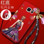 เคส Samsung S6 Edge Plus พลาสติกลายผู้หญิงแสนสวย พร้อมที่คล้องมือ สวยมากๆ แบบที่ 5