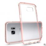 เคส Samsung S7 Edge พลาสติกโปร่งใส Crystal Clear ขอบปกป้องสวยงาม แบบที่ 4