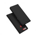 เคส OPPO R15 Pro แบบฝาพับหนังเทียม ใส่บัตรได้ ตั้งได้ ด้านในเป็นซิลิโคน พรีเมี่ยมสวยงามมาก แบบที่ 1