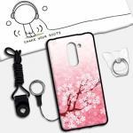 เคส Huawei GR5 (2017) ซิลิโคน soft case สกรีนลายการ์ตูนน่ารักๆ พร้อมสายคล้องและแหวน แบบที่ 6