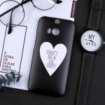 เคส HTC One M8 พลาสติกสกรีนลายน่ารักๆ เท่ หลายแนว แบบที่ 15