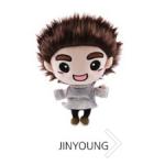 ชัคกี้ #GOT7 GOTOON DOLL Ver.3 : Jinyoung