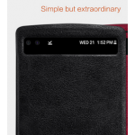 Case LG V10 ยี่ห้อ Nillkin รุ่น Qin สีดำ