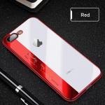 ไอโฟน 6/6s 4.7 นิ้ว tpu ขอบสีโครเมียม(ใช้ภาพรุ่นอื่นแทน)-สีแดง