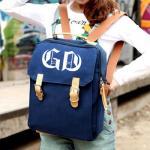 กระเป๋าสะพาย / เป้ทรงเหลี่ยม G-Dragon [ver.2] (สีน้ำเงิน)