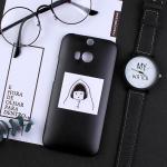 เคส HTC One M8 พลาสติกสกรีนลายน่ารักๆ เท่ หลายแนว แบบที่ 4