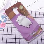 เคส Gionee A1 Lite ซิลิโคนสกรีนลายการ์ตูน พร้อมการ์ตูน 3 มิตินุ่มนิ่มสุดน่ารัก แบบที่ 3