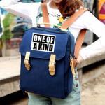 กระเป๋าสะพาย / เป้ทรงเหลี่ยม GD - one of a kind (สีน้ำเงิน)