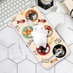 เคส ZenFone 5 พลาสติกสกรีนลายการ์ตูน พร้อมการ์ตูน 3 มิตินุ่มนิ่มสุดน่ารัก แบบที่ 1