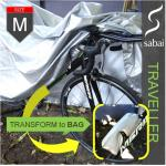 sabai cover ผ้าคลุมจักรยาน - รุ่น TRAVELLER size M
