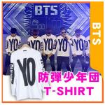 เสื้อแขนยาว YO แบบ BTS (สีขาว)