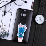 เคส HTC One M8 พลาสติกสกรีนลายน่ารักๆ เท่ หลายแนว แบบที่ 7