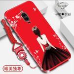 เคส Huawei Mate 9 Pro ลายผู้หญิง สีแดง#3