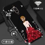 เคส Huawei Mate 9 Pro ลายผู้หญิง สีดำ#1