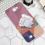 เคส Samsung Note 2 พลาสติกสกรีนลายการ์ตูน พร้อมการ์ตูน 3 มิตินุ่มนิ่มสุดน่ารัก แบบที่ 3